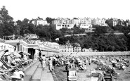 Torquay, Waldon Hill, Abbey Sands and Beach Cafe c1939