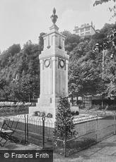 Torquay, War Memorial 1924
