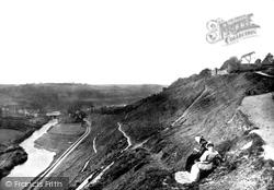 Torrington, Castle Hill 1890, Great Torrington