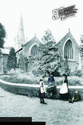 Torrington, Church 1890, Great Torrington