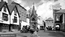 Torrington, Fore Street c.1950, Great Torrington