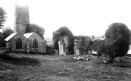 Torrington, Frithelstock Priory and Church 1893