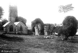 Torrington, Frithelstock Priory And Church 1893, Great Torrington