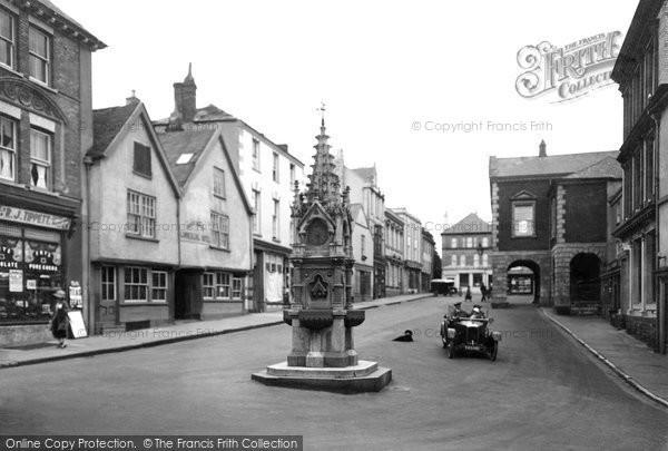 Torrington, High Street 1923