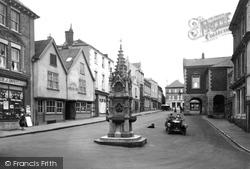 Torrington, High Street 1923, Great Torrington