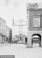 Torrington, High Street c.1890, Great Torrington