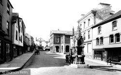 Torrington, Market Place 1893, Great Torrington