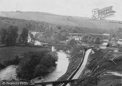 Torrington, Marland And Rothern Bridges c.1890, Great Torrington