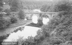 Torrington, River Torridge And Rothern Bridge 1923, Great Torrington