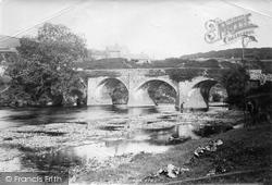 Torrington, Rothern Bridge 1893, Great Torrington
