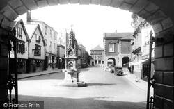 Torrington, Square From The Market 1935, Great Torrington