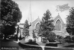 Torrington, St Michael's Church 1893, Great Torrington