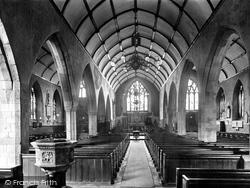 Torrington, St Michael's Church Interior 1923, Great Torrington