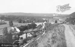 Torrington, Station Hill 1937, Great Torrington