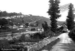 Torrington, Taddiport Bridge 1893, Great Torrington