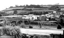 Torrington, Taddiport Bridge c.1955, Great Torrington
