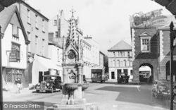 Torrington, The Square c.1955, Great Torrington