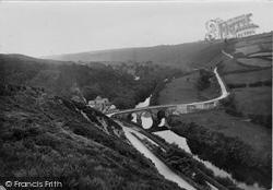 Torrington, Town Mill Bridge 1923, Great Torrington