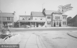 Shaw's And The George Hotel c.1965, Torrisholme