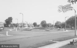 The Roundabout c.1965, Torrisholme