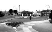 Torrisholme, the Square c1965