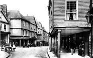 Totnes, Butterwalk 1896