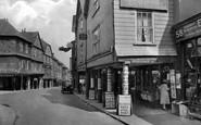 Totnes, Butterwalk 1931