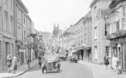 Car In Fore Street 1928, Totnes