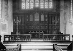Totnes, Church Reredos 1894