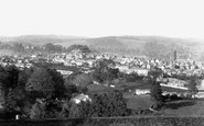 Totnes, from the Mount 1889