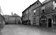 Totnes, King Edward VI Grammar School Quadrangle 1931