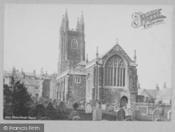 Totnes, Parish Church 1889