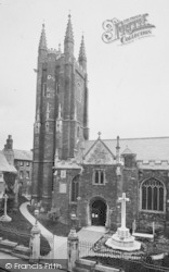 Totnes, Parish Church 1922