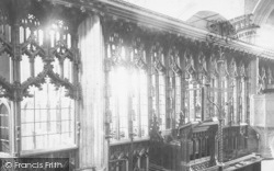 Totnes, Parish Church Interior 1889