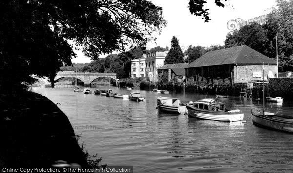 Totnes, The Bridge c.1960