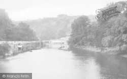 Totnes, View From Bridge 1922