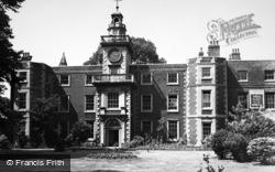 Tottenham, Bruce Castle 1951