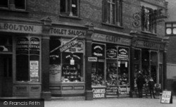 Tottenham, Businesses In Lordship Lane c.1910