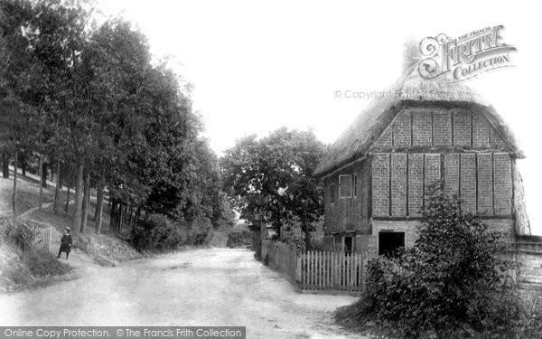 Photo of Totternhoe, Hill 1897
