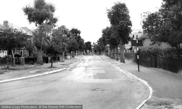 Totton, Rushington Estate c1955