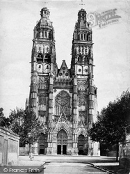 Cathedral Facade c.1867, Tours