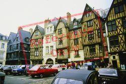 Place Plumereau 1984, Tours