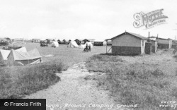 Towyn, Brown's Camping Ground c.1955