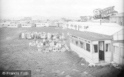 Towyn, Campers, Wilcock's Camp 1936