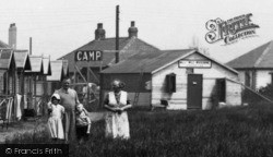 Towyn, Family At Whitby's Camp 1936