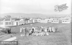 Towyn, Holidaymakers, Wilcock's Camp c.1936