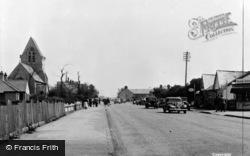 Towyn, Towyn Road c.1955