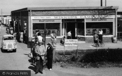 Towyn, Winkups Holiday Camp Shop c.1960