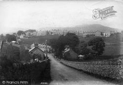 Trawsfynydd, From Station Road 1904