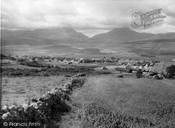 Trawsfynydd, General View c.1955